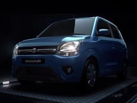 2019 Maruti Suzuki WagonR Official Images Released
