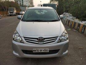 Used Toyota Innova 2.5 GX 8 STR BSIV 2010 for sale