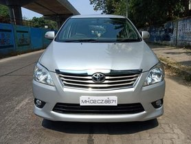 Used Toyota Innova 2013 car at low price