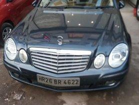 Mercedes Benz E Class 2009 for sale