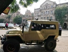 Check out the Mahindra Thar Wanderlust Brown Camouflage Edition [Video]