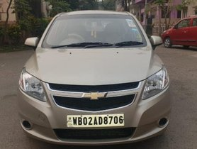 Used Chevrolet Sail Hatchback Petrol LS ABS 2013 for sale