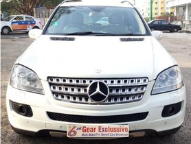 Used Mercedes Benz M Class 2008 car at low price