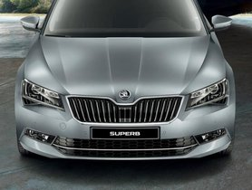 2019 Skoda Superb Corporate Edition Launched At INR 23.99 Lakh