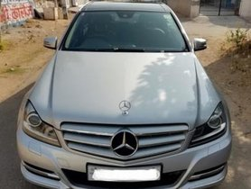 Mercedes Benz C Class 220 CDI AT 2013 for sale