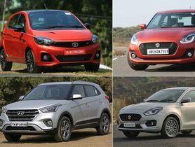 Top 10 Cars Marking 1 Lakh+ Sales in 2018, from Maruti Drize to Hyundai Creta