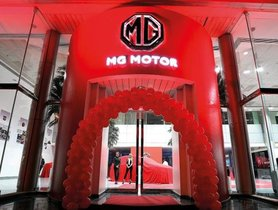 MG Motor to Open First Showroom In India In May 2019