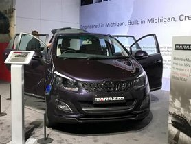 Mahindra Marazzo Officially Debuts At The Detroit Motor Show