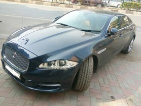 Used Jaguar XJ car at low price