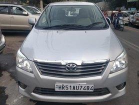 Toyota Innova 2.5 GX 7 STR BSIV 2013 for sale