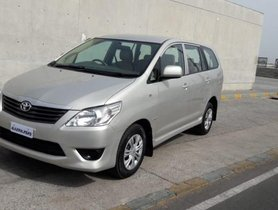 Toyota Innova 2.5 GX (Diesel) 8 Seater BS IV 2013 for sale