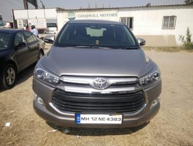 2016 Toyota Innova Crysta for sale
