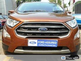 Ford EcoSport 1.5 Diesel Titanium Plus 2017 for sale