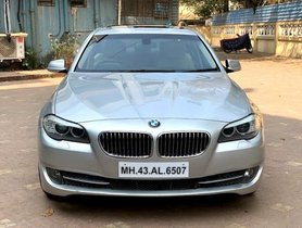 Used BMW 5 Series car 2012 for sale at low price