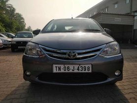 Used Toyota Platinum Etios car 2013 for sale at low price