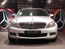 Mercedes Benz C Class C 200 Kompressor Elegance AT 2008 for sale