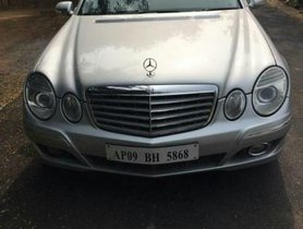 Used Mercedes Benz E Class 2007 car at low price