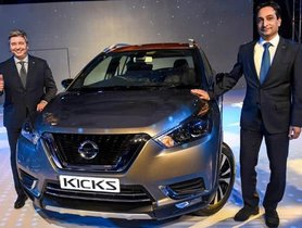 Nissan Kicks SUV Launched At Rs 9.55 Lakh