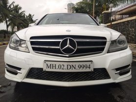 Used Mercedes Benz C Class C 220 CDI Elegance AT 2014 for sale