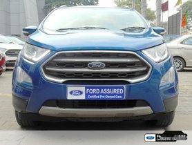 Ford EcoSport 1.5 Petrol Titanium 2017 for sale