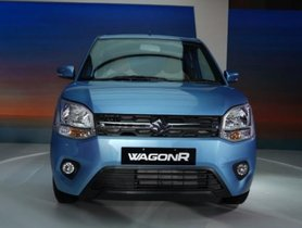 2019 Maruti Suzuki WagonR Confirmed to Miss Out On LPG Variants
