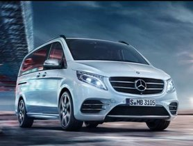 Mercedes V-Class Launched In India in Two Variants, Prices Start at Rs 68.40 Lakh