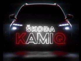 Skoda's Next SUV For India Named As 'Skoda Kamiq'
