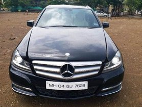 Mercedes Benz C Class 220 CDI AT 2014 for sale