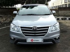 Toyota Innova 2.5 ZX Diesel 7 Seater 2015 for sale