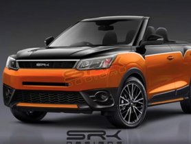 Mahindra XUV300 Convertible Concept Looks Simply Stunning