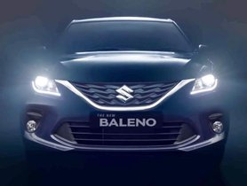 Have A Look At The Maruti Baleno Facelift's Brochure Images