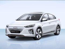 Hyundai Ioniq EV Spied In Chennai