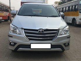Toyota Innova 2.5 VX (Diesel) 7 Seater 2014 for sale