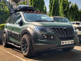 The Officially Modified Mahindra XUV500 Looks Sweet!