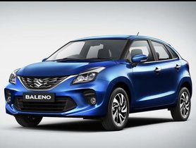 2019 Maruti Baleno Arrives At Dealerships, Spotted in Phoenix Red Colour