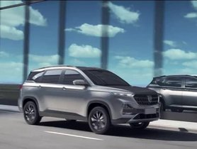 2019 MG Hector To Be Equipped With Sunroof and Largest Touchscreen In The Segment
