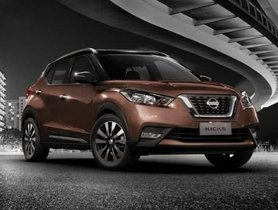Nissan Kicks Reaches 1,000 Booking Mark in India
