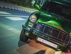 Check out this brilliantly restored Hindustan Ambassador
