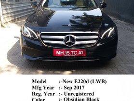 Mercedes Benz E Class E 220 d 2017 for sale