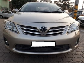 Used Toyota Corolla Altis car 2013 for sale at low price