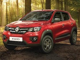 2019 Renault Kwid Gets Many New Safety Features and an Updated Infotainment Unit