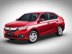 Honda Exclusive Edition Update On WR-V, Amaze and Jazz To Arrive Tomorrow