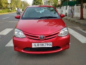 2013 Toyota Platinum Etios for sale