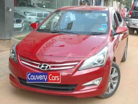 Used Hyundai Verna car 2016 for sale at low price