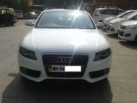 Used 2012 Audi A4 car at low price