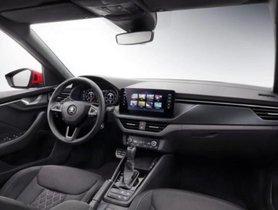 Interior of Skoda Kamiq, an upcoming Hyundai Creta rival, revealed with familiar looks