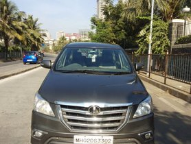 Used Toyota Innova 2.5 ZX Diesel 7 Seater BSIII 2014 for sale