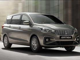 6,300 units of New-gen Maruti Ertiga sold in January 2019
