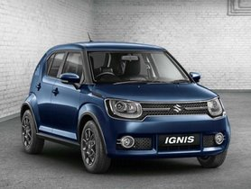 Maruti Ignis Production Suspended, Facelift In The Pipeline