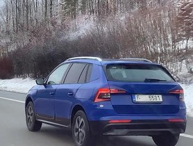 Skoda Kamiq Spotted Testing Totally Uncovered